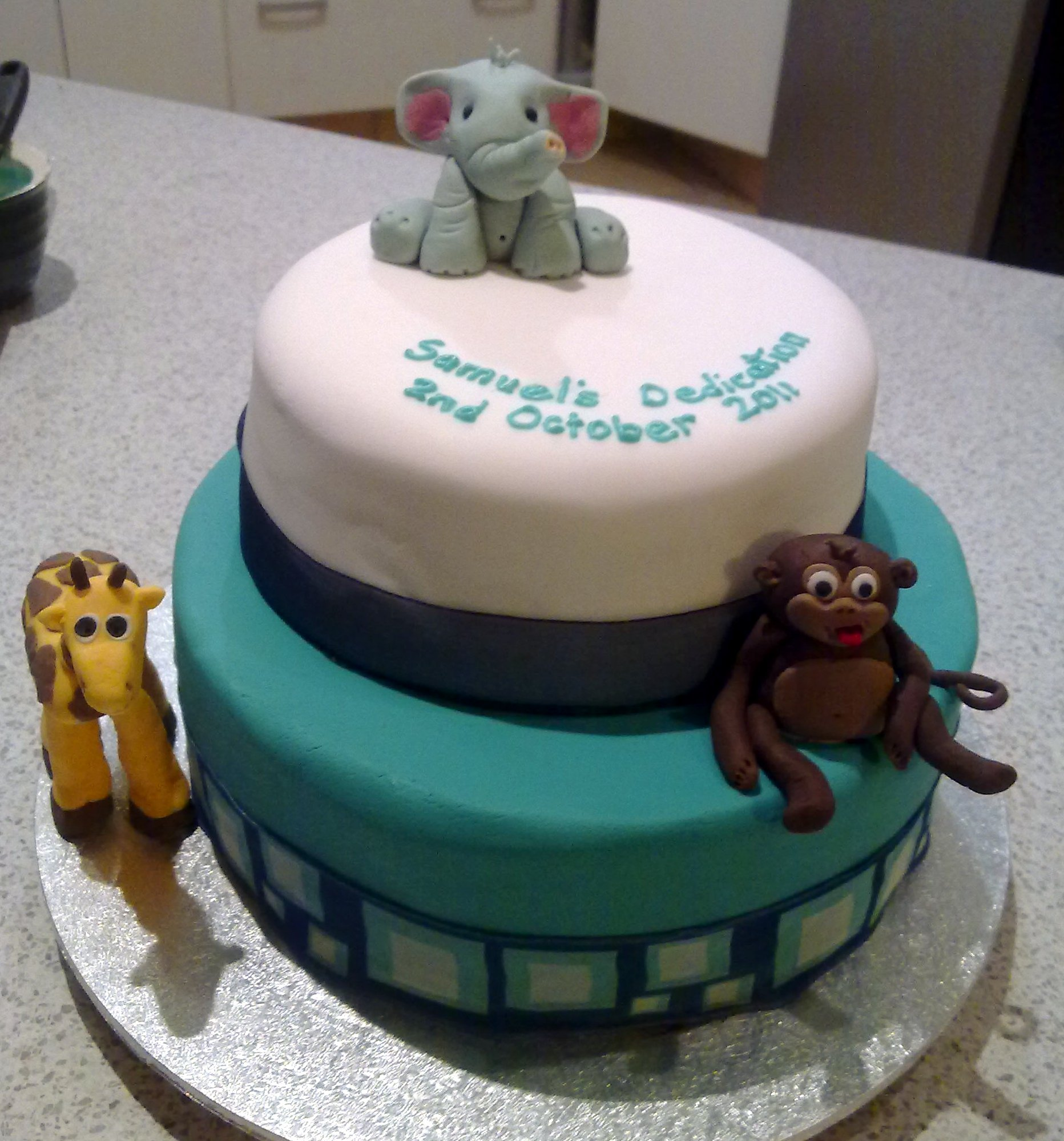 Cake Designs For Baby Dedication : Baby Safari Time! Cocoa Jo s
